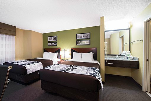 Sleep Inn rooms