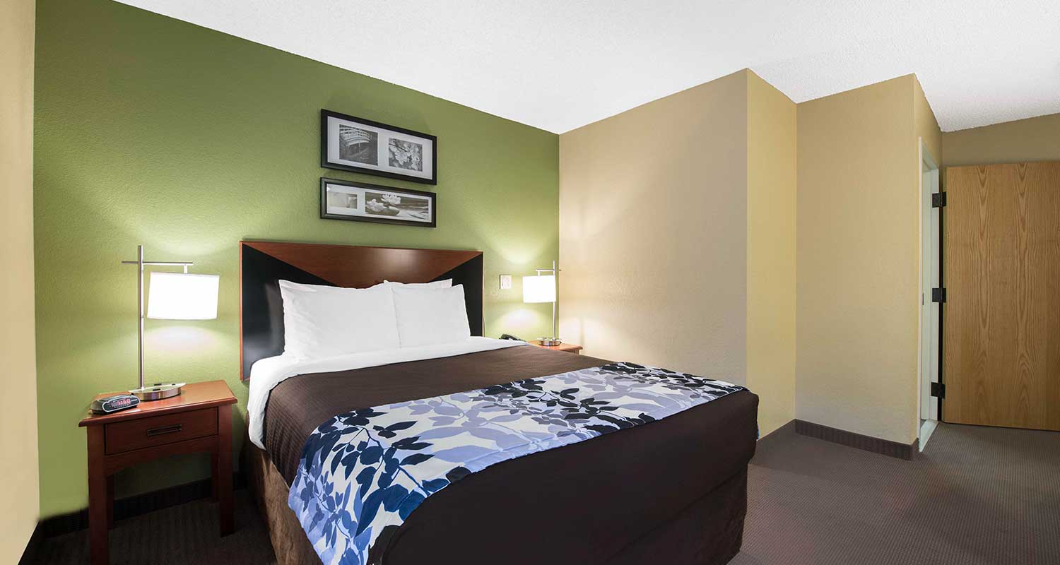 Spacious Guest Rooms Designed For A Restful Sleep