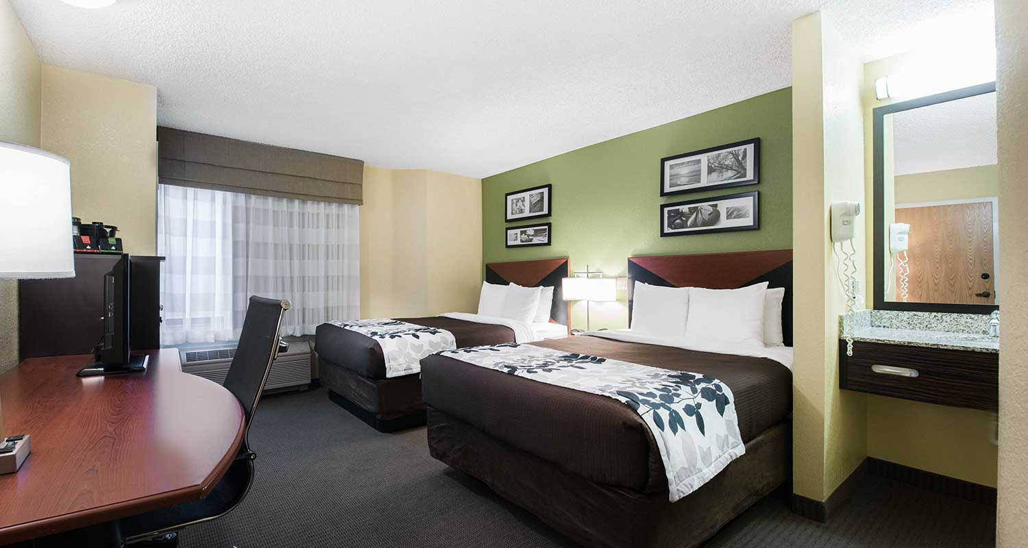 Well Appointed Family-Friendly Guest Rooms